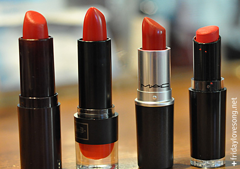 My Favorite Red Lipsticks - fridaylovesong.net