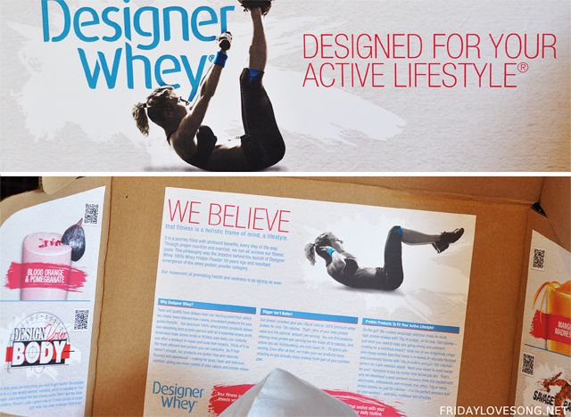 Designer Whey Protein Packed Products - fridaylovesong.net
