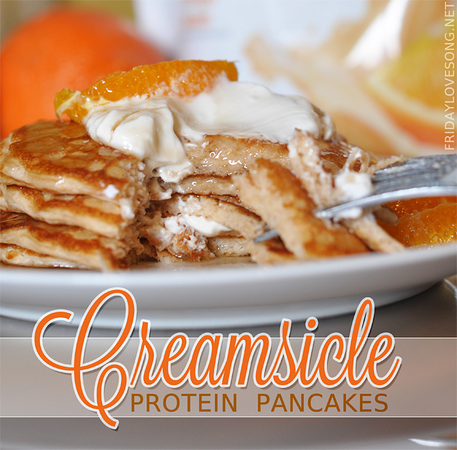 A Slow Start + GNC Total Lean 25 Creamsicle Pancakes - fridaylovesong.net