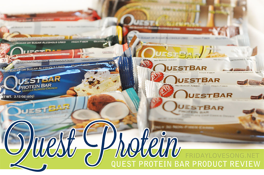 Quest Protein Bar Review - fridaylovesong.net