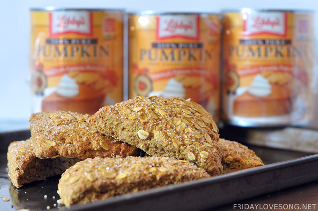 Pumpkin Spice Scones + Pumpkin Pie Spice Recipe - fridaylovesong.net