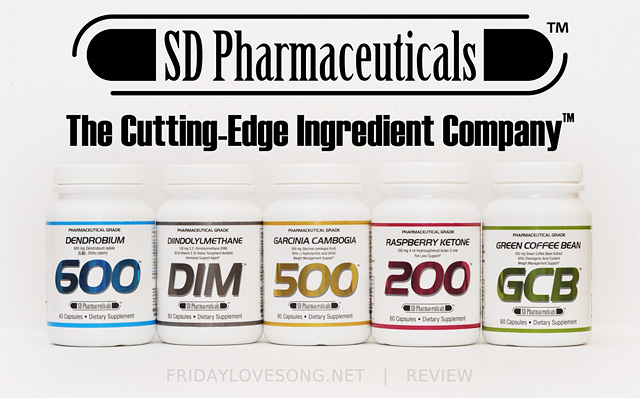 A Look At SD Pharma Energy + Fat Burning Supplements | fridaylovesong.net