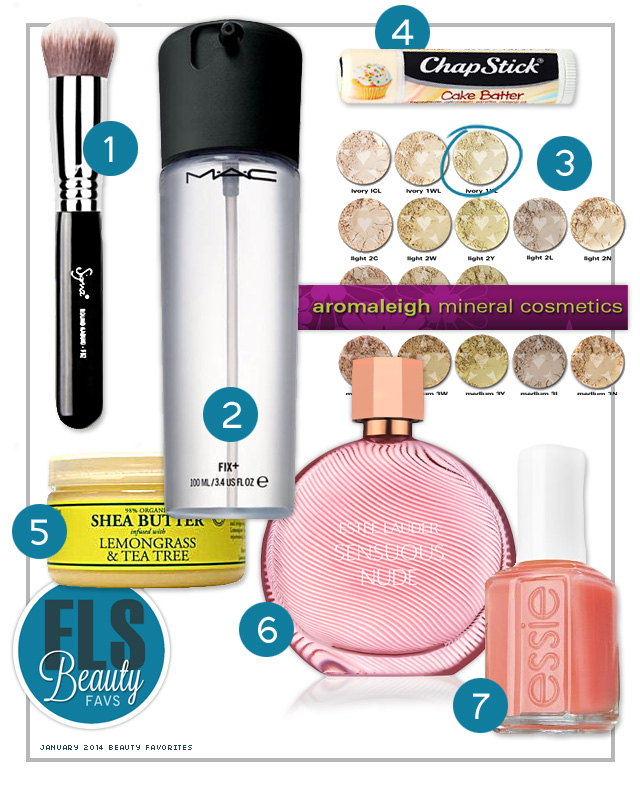January 2014 Beauty Favorites - fridaylovesong.net