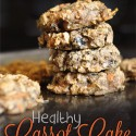 Icing + A Healthy Carrot Cake Cookie Recipe