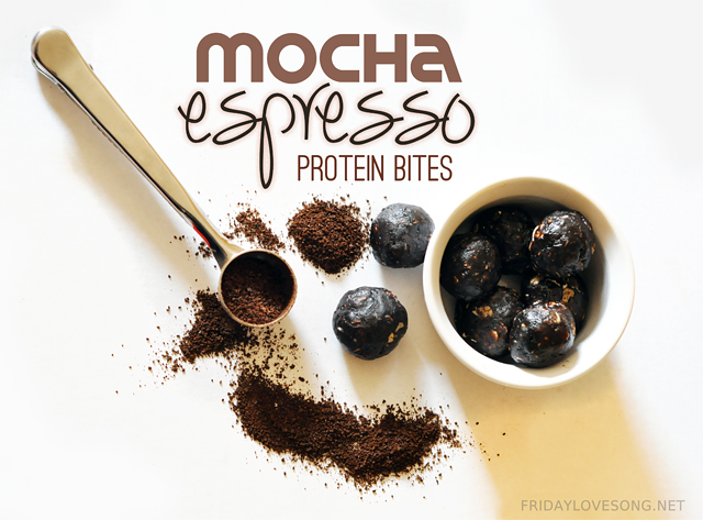 JAVAPRO Review + Mocha Espresso Protein Bites - fridaylovesong.net