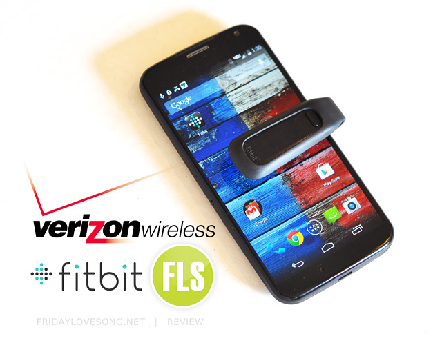 Verizon Wireless FitBit Moto X review | fridaylovesong.net