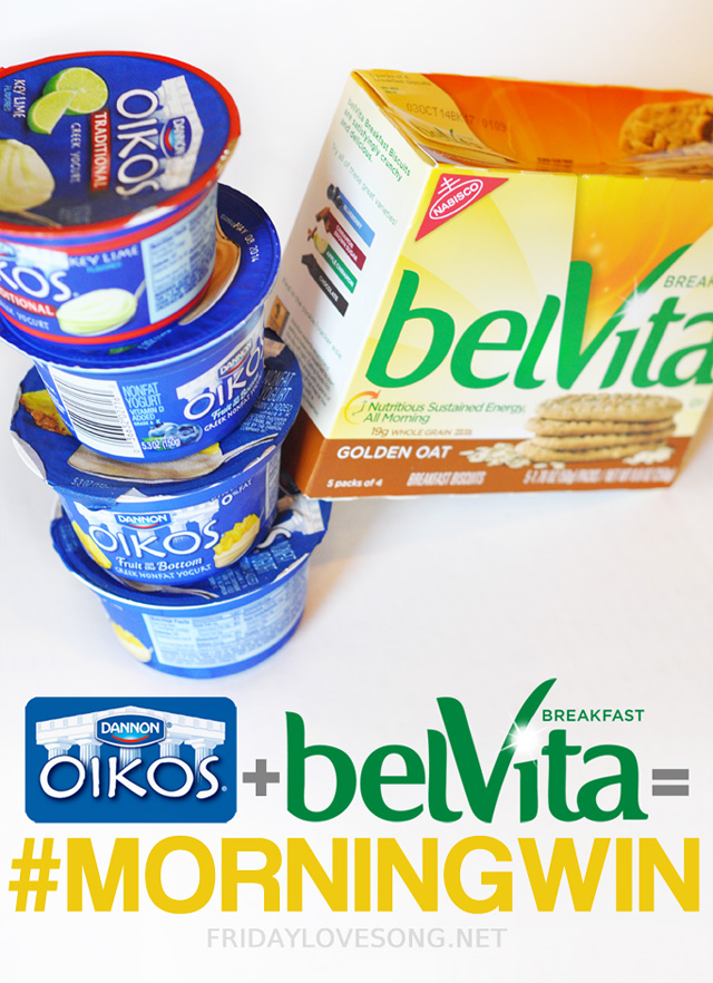 belVita + Okios for the #morningwin | fridaylovesong.net