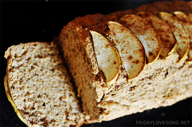 Applesauce Bread | fridaylovesong.net