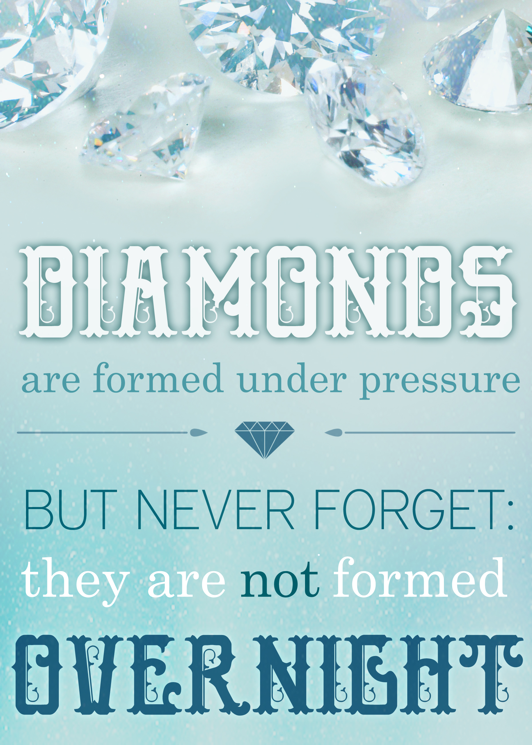 Diamonds Are Made Under Pressure - fridaylovesong.net