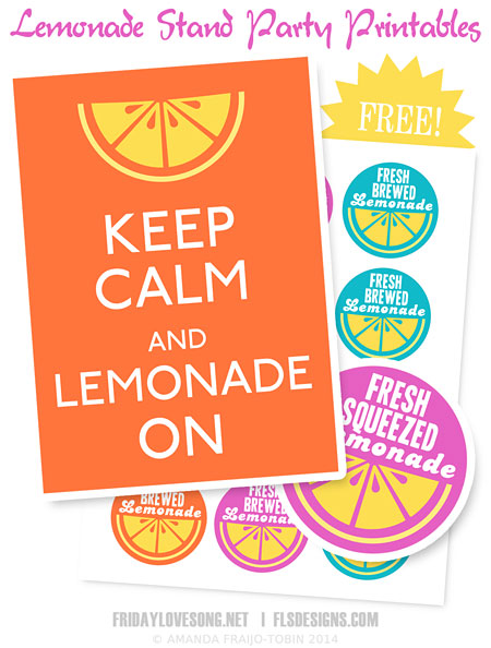 How To Make Iced Tea With K Cups + Lemonade Stand Printables - fridaylovesong.net