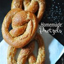 Homemade Soft Chewy Salted Pretzels