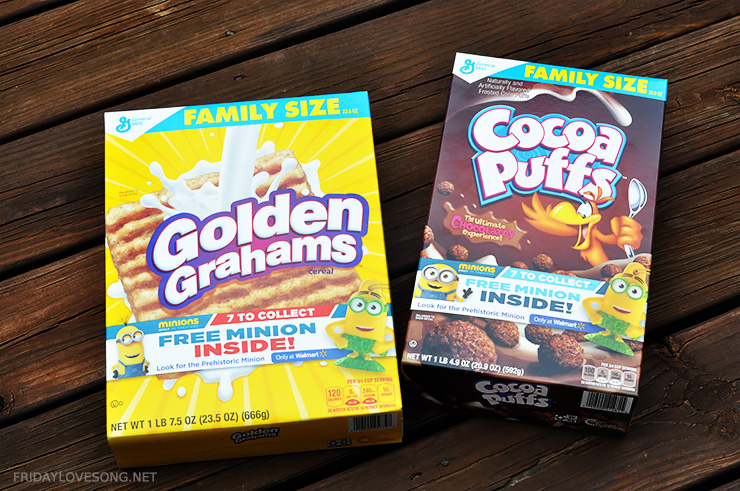 Find #The7thMinon exclusive at WalMart in specially marked cereal boxes | fridaylovesong.net #cbias #collectivebias
