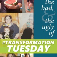 The Good, The Bad, and The Ugly of #TransformationTuesday - why I love and hate this hashtag | fridaylovesong.net #fitfluenitial #weightloss #healthy